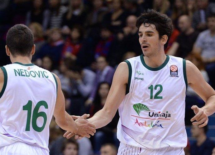 """""""Unicaja"""" turėtų keltis į """"FIBA Europe"""" organizuojamą turnyrą (Scanpix nuotr.)"""