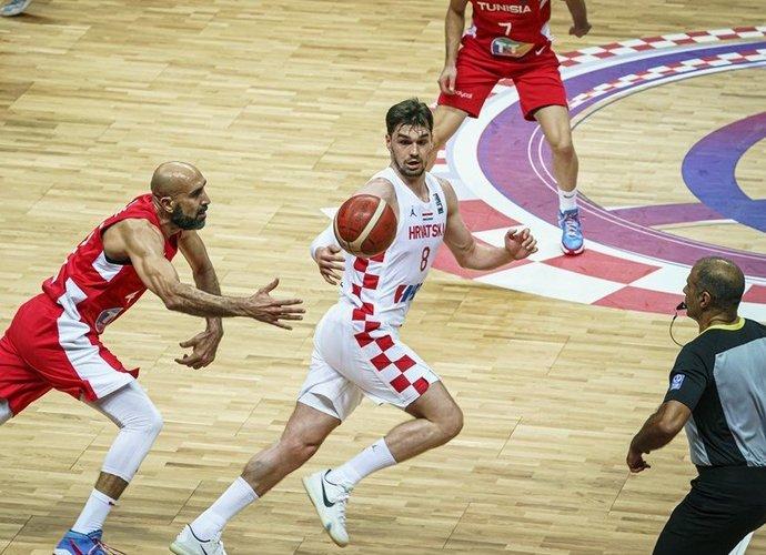 M.Hezonja vedė kroatus į priekį (FIBA nuotr.)