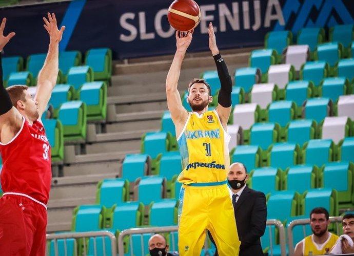 Ukraina laimėjo svarbią kovą (FIBA Europe nuotr.)