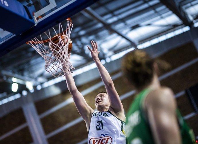 E.Venskus buvo vienas pergalės kalvių (FIBA nuotr.)