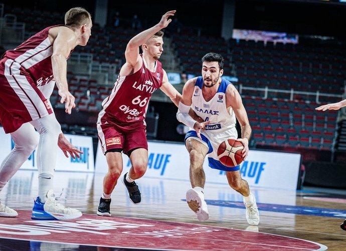 D.Katsivelis vedė graikus į pergalę (FIBA nuotr.)