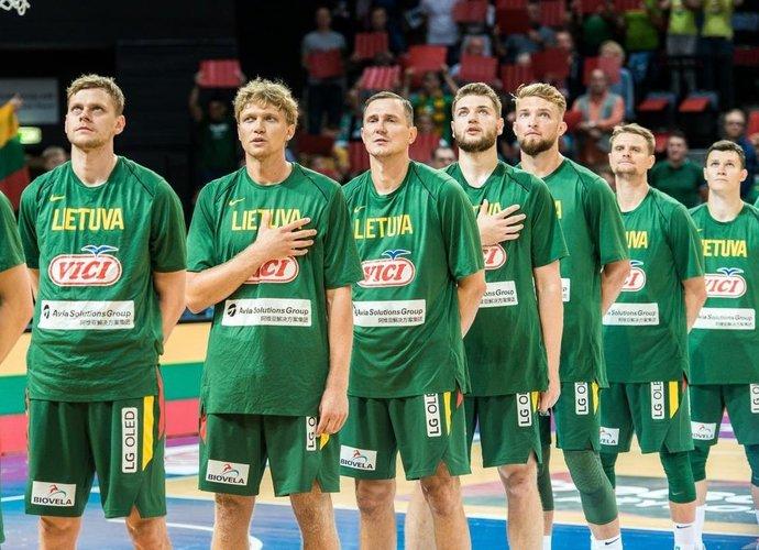 Lietuvos rinktinė šeštadienį ryte Lietuvos laiku žais su Pietų Korėja (Lino Žemgulio nuotr.)