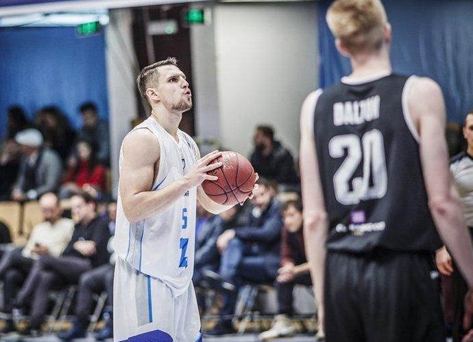 D.Krestininas taškų nepelnė (FIBA Europe nuotr.)