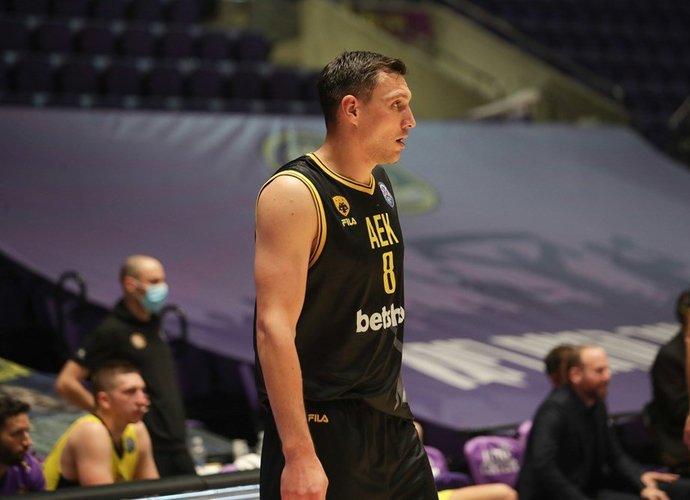 J.Mačiulis buvo sunkiai sulaikomas (FIBA Europe nuotr.)