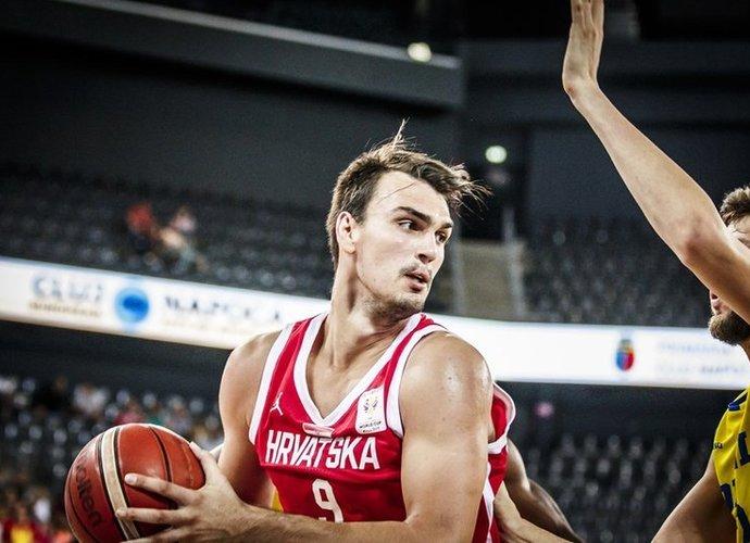 D.Šaričius atvedė kroatus į svarbią pergalę (FIBA nuotr.)