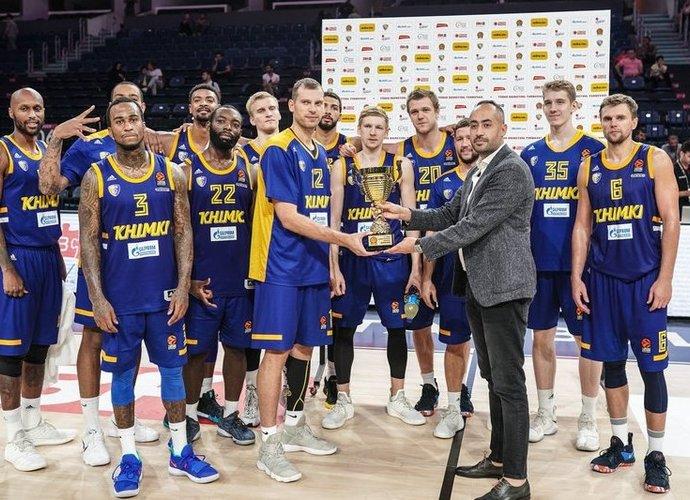 """""""Chimki"""" turnyre užėmė trečiąją vietą"""