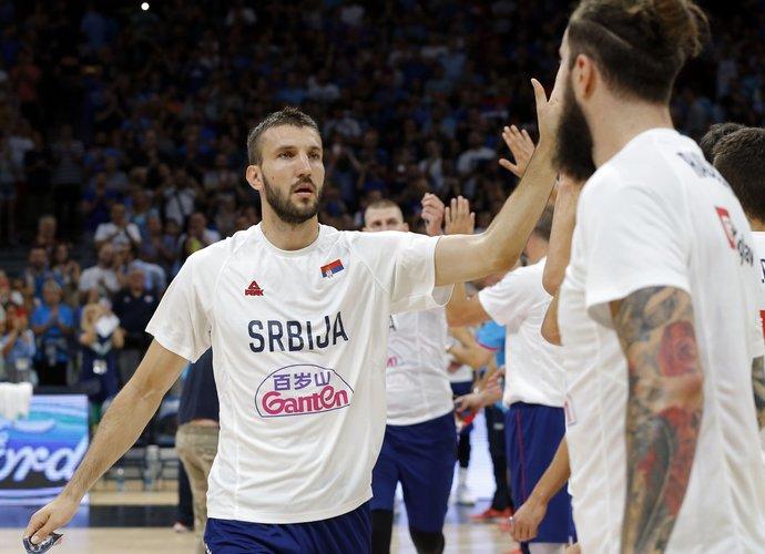 S.Birčevičius rungtyniaus Pasaulio taurėje (Scanpix nuotr.)