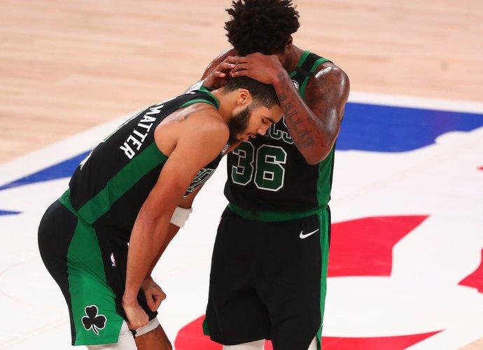 """Celtics"" turėjo du lyderius (Scanpix nuotr.)"