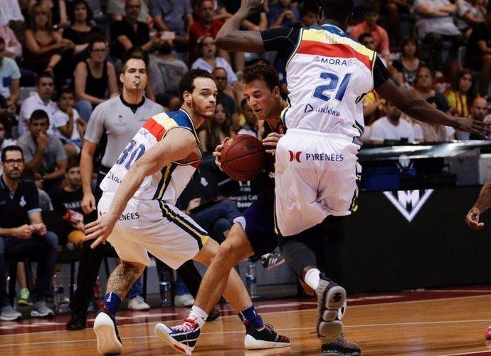 """K.Pangosas liko be """"Barcelona Lassa"""" paprastai iškovojamo trofėjaus (Organizatorių nuotr.)"""