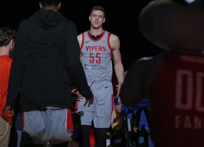 I.Hartensteinas siekia vietos NBA
