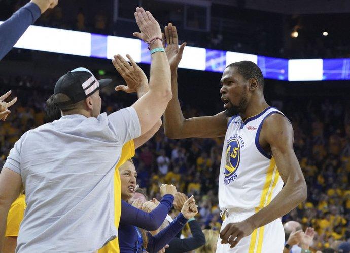 "K.Durantui patiko ""Warriors"" atstovų požiūris (Scanpix nuotr.)"