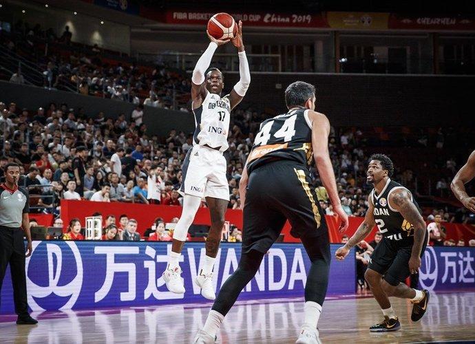 D.Schroderis surinko dvigubą dublį (FIBA nuotr.)