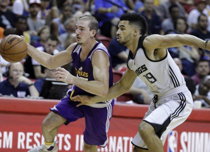 Alexas Caruso gaus šansą NBA (Scanpix nuotr.)