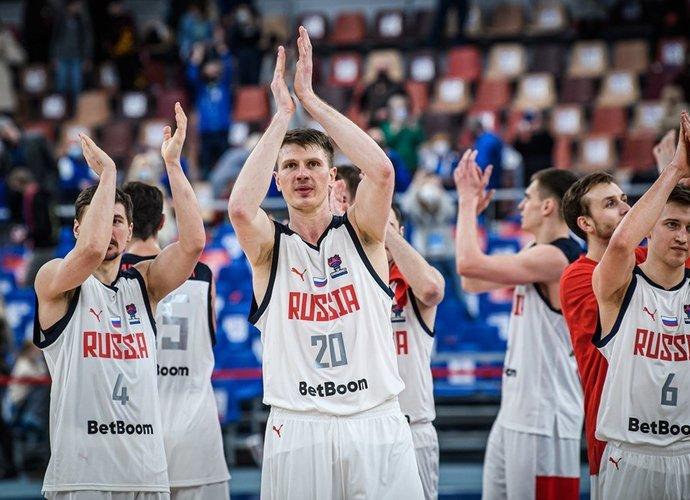 Rusija iškovojo užtikrintą pergalę (FIBA Europe nuotr.)