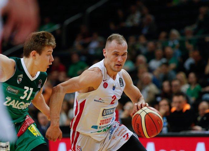 D.Bičkauskis džiaugėsi atmosfera komandoje (Josvydas Elinskas, Fotodiena.lt)