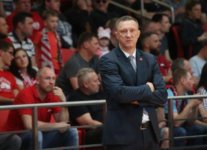 Ž.Urbonas džiaugėsi savo komandos kova (BNS nuotr.)
