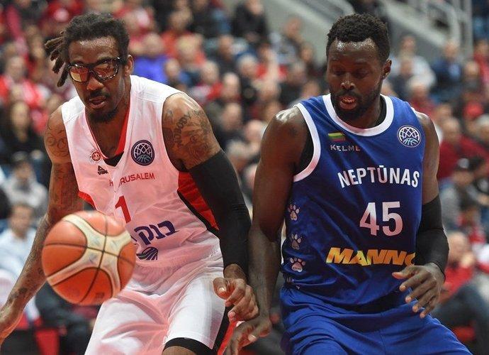 Klaipėdiečiai neturėjo jokių vilčių Jeruzalėje (FIBA Europe nuotr.)