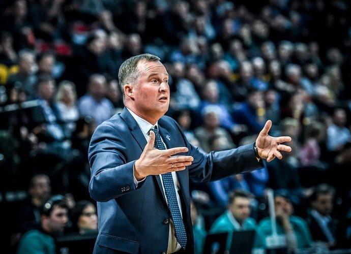K.Maksvytis neliko patenkintas mačo startu (FIBA Europe nuotr.)