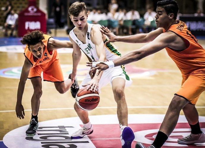 Lietuviai kovos ketvirtfinalyje (FIBA Europe nuotr.)