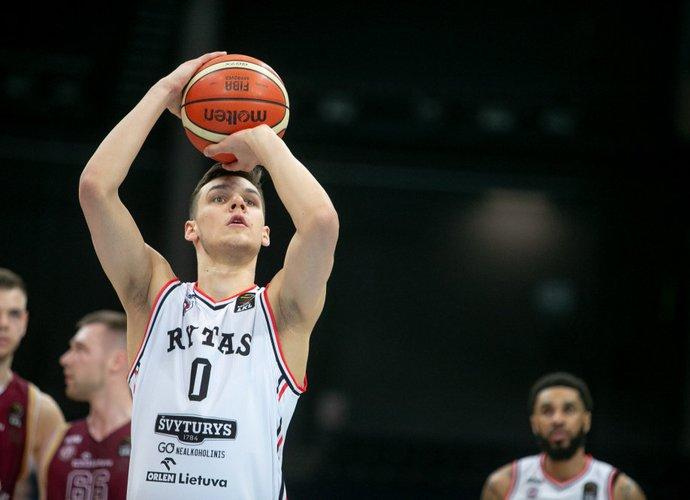 D.Sirvydis dar yra NBA klubų radaruose (BNS nuotr.)
