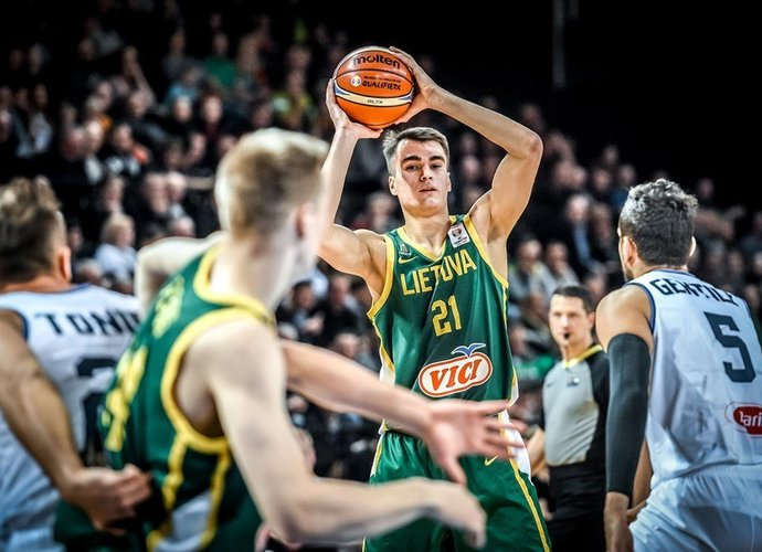 G.Masiulis atstovavo Lietuvai (FIBA Europe nuotr.)