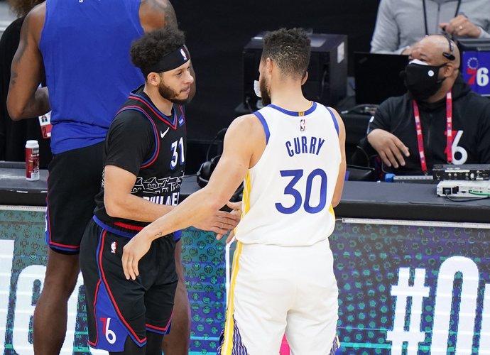 Brolių Curry akistatoje nugalėjo Stephenas (Scanpix nuotr.)