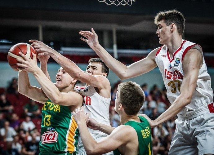 Lietuviai baigė kovą dėl medalių  (FIBA nuotr.)