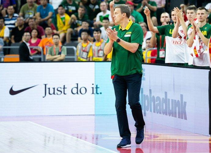 """""""Rytas"""" yra pasiruošęs leisti treneriui pailsėti (BNS nuotr.)"""