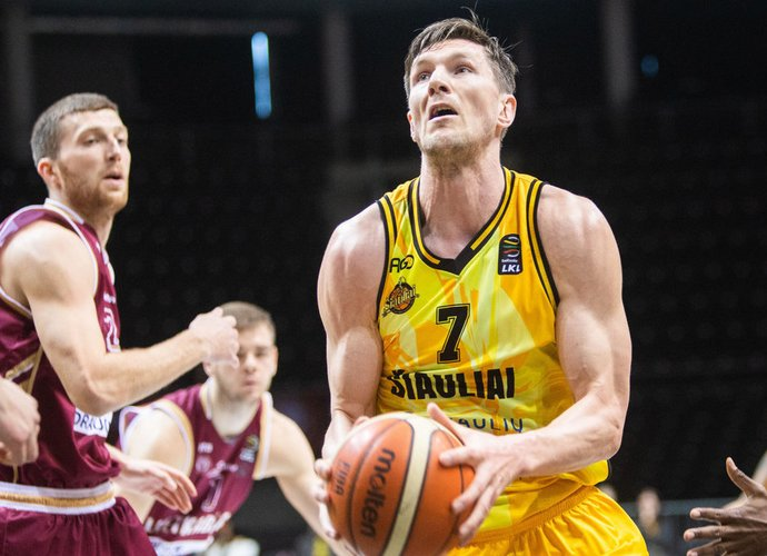 A.Urbutis ir toliau žais Lietuvos čempionate (BNS nuotr.)