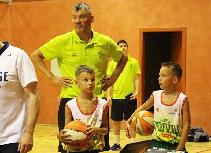 Š.Jasikevičius surengė stovyklą jauniems įžaidėjams