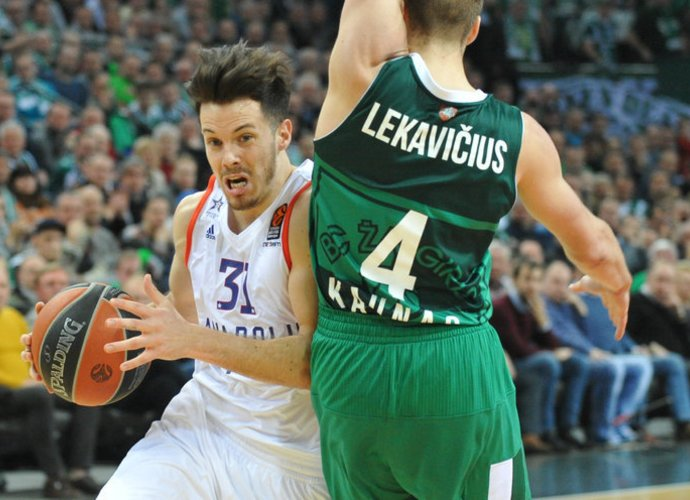 T.Heurtelis po trumpos pertraukos vėl sužaidė solidžias rungtynes (Rokas Lukoševičius, Fotodiena.lt)