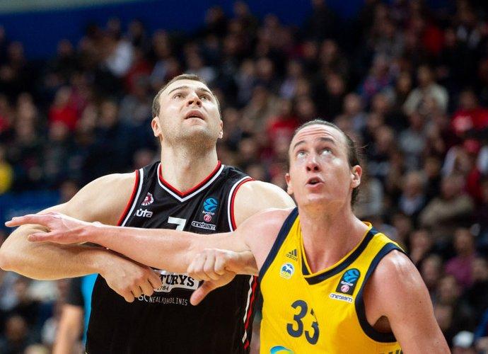 A.Parachovskis užėmė penktąją vietą, o L.Sikma tapo naudingiausiu žaidėju (BNS nuotr.)