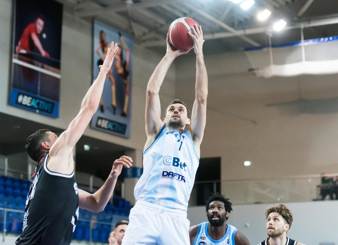 L.Kisielius šį sezoną debiutavo NKL čempionate (Dainius Lukšta, NKL)