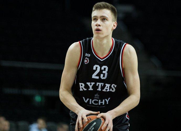 M.Blaževičius pelnė 18 taškų (BNS nuotr.)