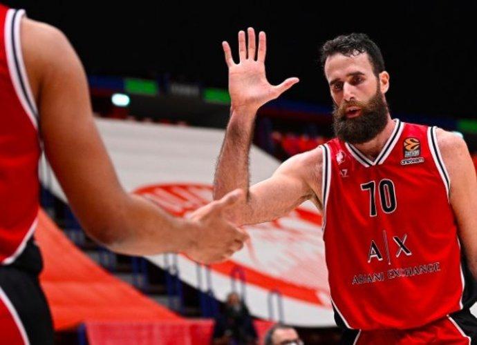 Milano krepšininkai užtikrintai žengė į pusfinalį