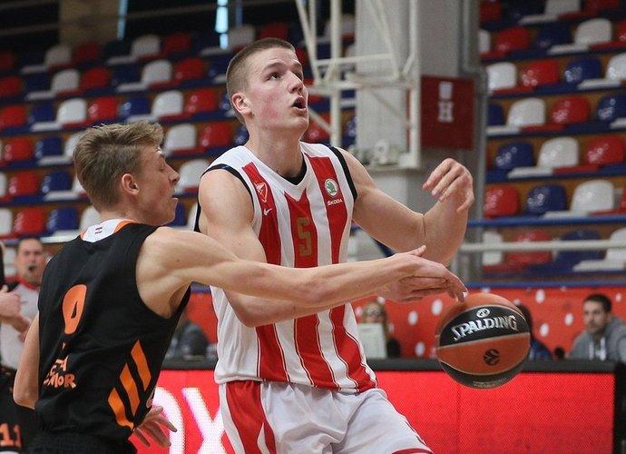 M.Pavičevičius susiejo ateitį su Belgrado klubu (nuotr. Euroleague.net)