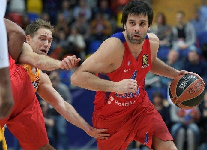 M.Teodosičius pateko į pirmąjį geriausių žaidėjų penketuką (Scanpix nuotr.)