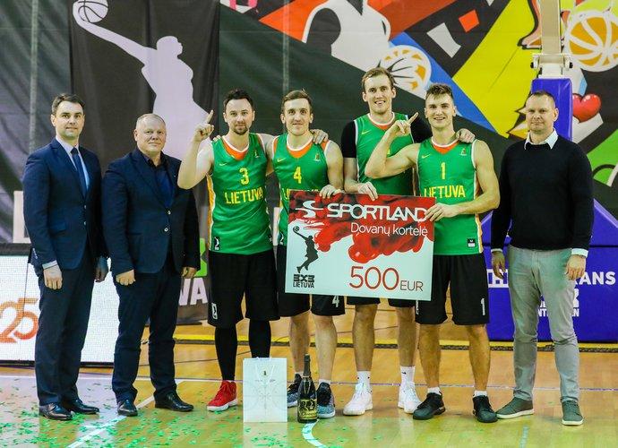 """Lietuvos rinktine tapusi """"Gulbelė"""" laimėjo paskutinį """"Hoptrans Winter Open"""" etapą"""