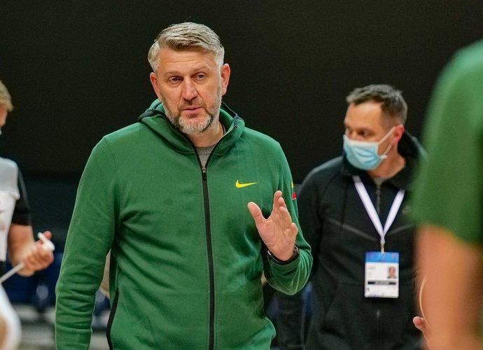 D.Maskoliūnas džiaugėsi atmosfera komandoje (Ž.Vingelio nuotr.)