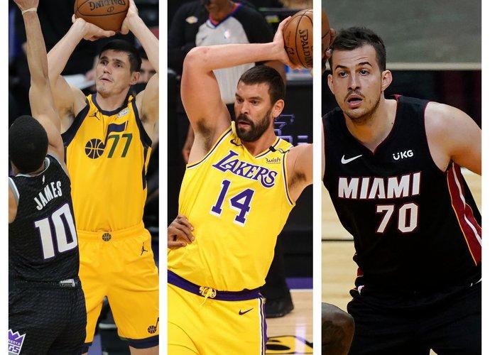 Šiems Europos veteranams gali nebelikti vietos NBA (Scanpix nuotr.)