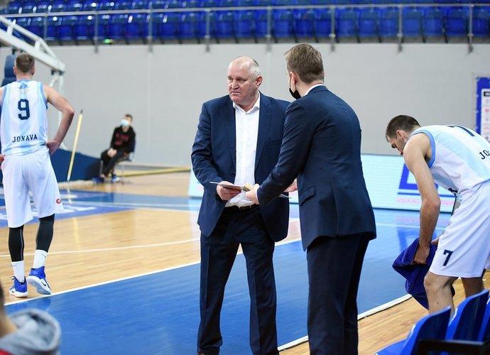 V.Šeškus kalbėjo apie komandos tikslus (Klubo nuotr.)