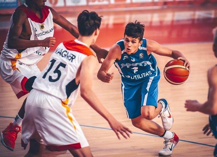 """K.Kriisa prisijungs prie """"Žalgirio"""" sistemos (FIBA Europe nuotr.)"""