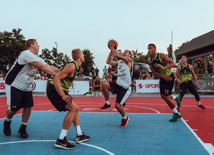 3x3 krepšinio vasaros planuose – grandiozinis turnyras Raudondvaryje