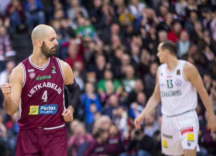 Ž.Šakičius yra naudingiausias LKL žaidėjas (BNS nuotr.)