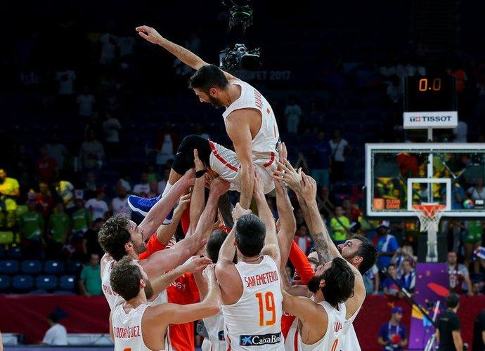 J.C.Navarro labiausiai džiaugiasi pasaulio čempionato auksu (Matas Baranauskas, Fotodiena.lt)