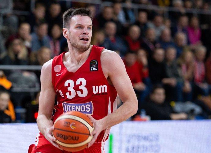 T.Dimša sužaidė geriausią sezono mačą (BNS nuotr.)