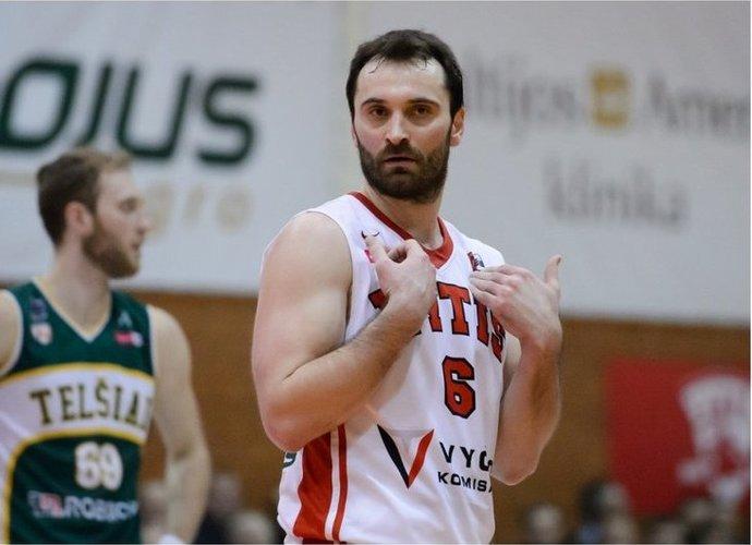 G.Maceina praėjusį sezoną praleido Šakiuose (Vido Venslovaičio nuotr.)