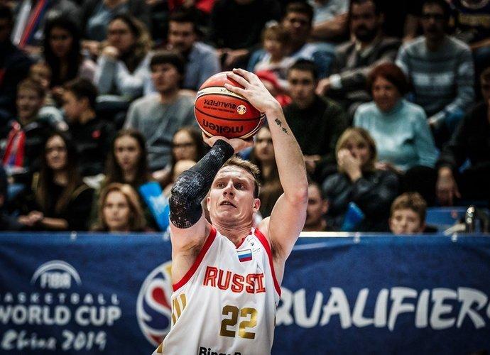 D.Kulaginas galėjo surinkti ir trigubą dublį (FIBA nuotr.)