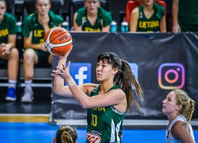 U.Čižauskaitė dominavo po krepšiais (FIBA Europe nuotr.)