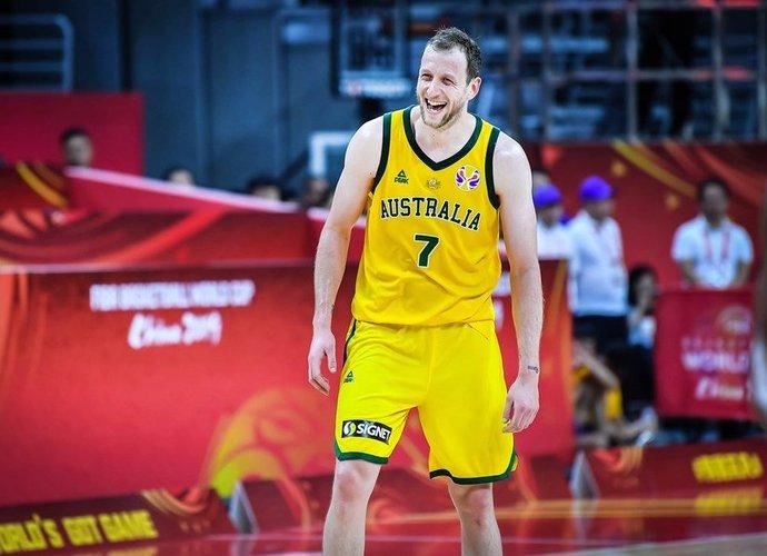 J.Inglesas tapo itin svarbiu australų ginklu (FIBA nuotr.)